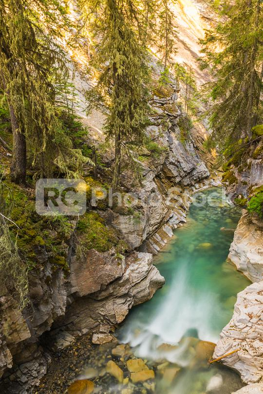 Johnston canyon trail banff alberta canada   : Stock Photo or Stock Video Download rcfotostock photos, images and assets rcfotostock   RC-Photo-Stock.: