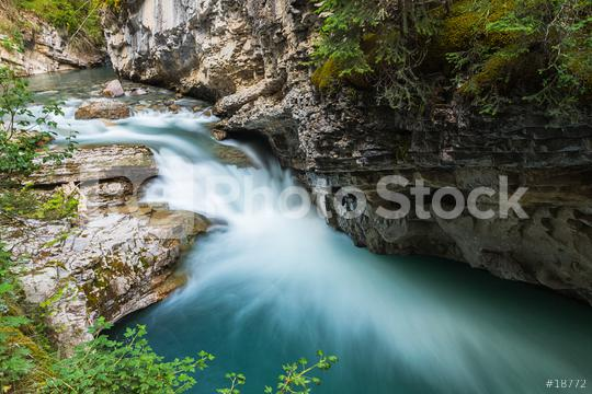 Johnston Canyon Upper Falls banff canada  : Stock Photo or Stock Video Download rcfotostock photos, images and assets rcfotostock   RC-Photo-Stock.: