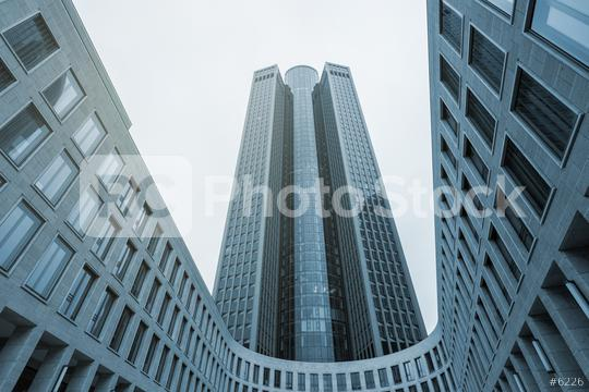 kyscrapers in Frankfurt City  : Stock Photo or Stock Video Download rcfotostock photos, images and assets rcfotostock   RC-Photo-Stock.: