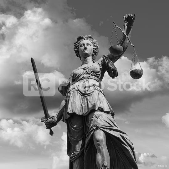 Lady Justice in Frankfurt  : Stock Photo or Stock Video Download rcfotostock photos, images and assets rcfotostock | RC-Photo-Stock.: