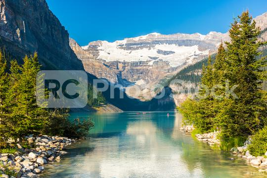 Lake Louise in summer at the Banff National park canada  : Stock Photo or Stock Video Download rcfotostock photos, images and assets rcfotostock | RC-Photo-Stock.: