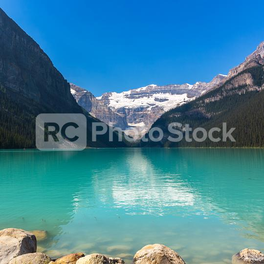 Lake Louise in the rocky mountains banff canada  : Stock Photo or Stock Video Download rcfotostock photos, images and assets rcfotostock | RC-Photo-Stock.: