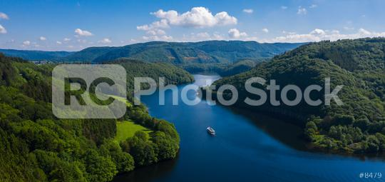 Lake Rursee, Eifel Germany  : Stock Photo or Stock Video Download rcfotostock photos, images and assets rcfotostock   RC-Photo-Stock.: