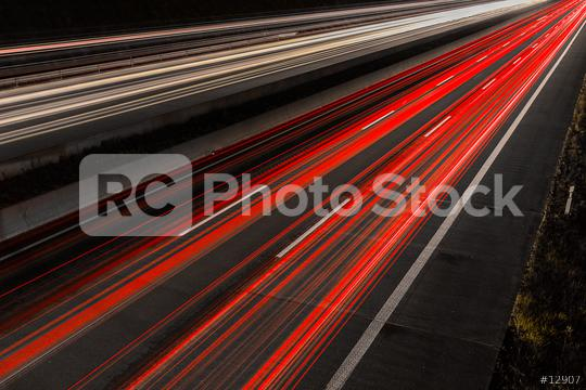 light trails on a highway at night   : Stock Photo or Stock Video Download rcfotostock photos, images and assets rcfotostock | RC-Photo-Stock.: