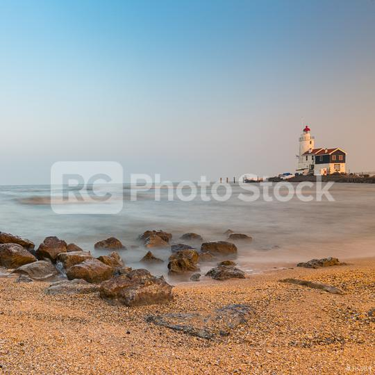 Lighthouse at the beach   : Stock Photo or Stock Video Download rcfotostock photos, images and assets rcfotostock   RC-Photo-Stock.: