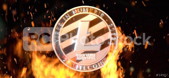 litecoin with worldmap  : Stock Photo or Stock Video Download rcfotostock photos, images and assets rcfotostock | RC-Photo-Stock.: