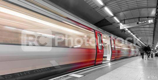London tube opening the door motion blur  : Stock Photo or Stock Video Download rcfotostock photos, images and assets rcfotostock   RC-Photo-Stock.:
