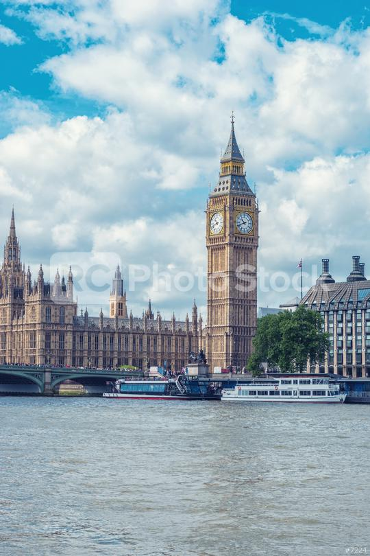 London Westminster bridge with Big Ben and red bus  : Stock Photo or Stock Video Download rcfotostock photos, images and assets rcfotostock   RC-Photo-Stock.: