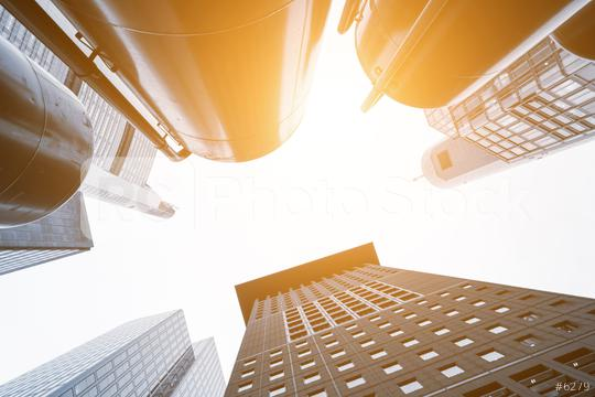 Looking up at some impressive skyscrapers  : Stock Photo or Stock Video Download rcfotostock photos, images and assets rcfotostock   RC-Photo-Stock.: