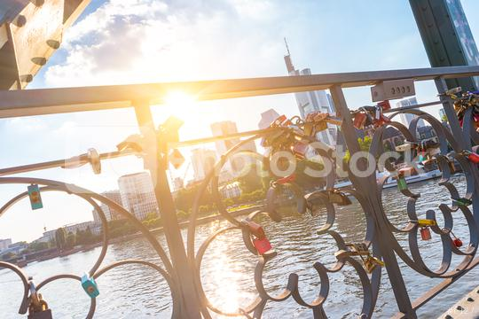 Love locks at Frankfurt, germany  : Stock Photo or Stock Video Download rcfotostock photos, images and assets rcfotostock | RC-Photo-Stock.: