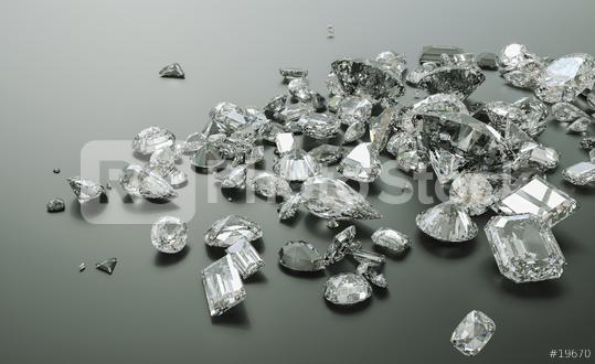 Luxury diamonds on black backgrounds - 3D Rendering  : Stock Photo or Stock Video Download rcfotostock photos, images and assets rcfotostock | RC-Photo-Stock.: