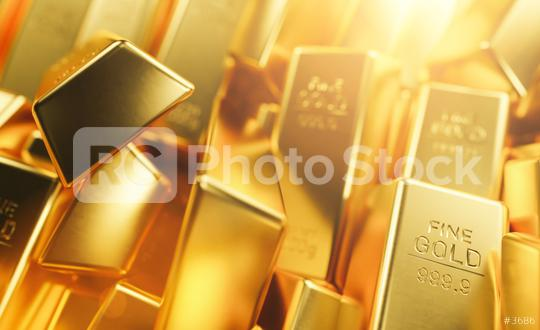Macro view of rows of gold bars   : Stock Photo or Stock Video Download rcfotostock photos, images and assets rcfotostock | RC-Photo-Stock.: