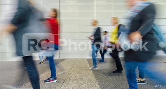 Many anonymous people go shopping in a bright shopping mall  : Stock Photo or Stock Video Download rcfotostock photos, images and assets rcfotostock | RC-Photo-Stock.: