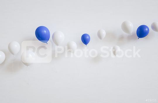 many ballons on a wall - 3D Rendering  : Stock Photo or Stock Video Download rcfotostock photos, images and assets rcfotostock | RC-Photo-Stock.: