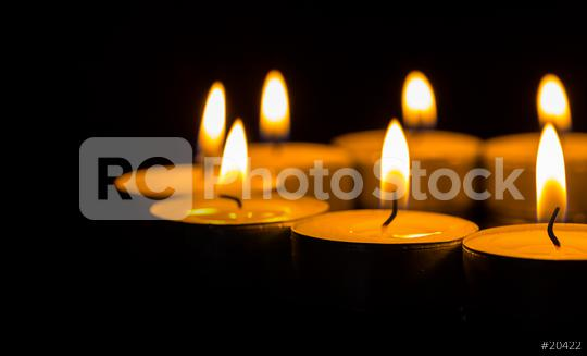 Many burning candles with shallow depth of field  : Stock Photo or Stock Video Download rcfotostock photos, images and assets rcfotostock   RC-Photo-Stock.: