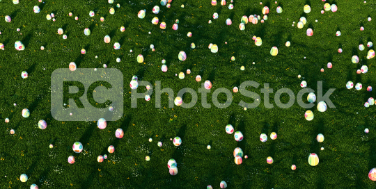 Many colorful easter eggs in the grass of a meadow for easter  : Stock Photo or Stock Video Download rcfotostock photos, images and assets rcfotostock   RC-Photo-Stock.: