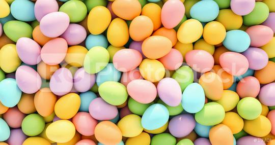 many pastel colored easter eggs background - 3D Rendering  : Stock Photo or Stock Video Download rcfotostock photos, images and assets rcfotostock   RC-Photo-Stock.: