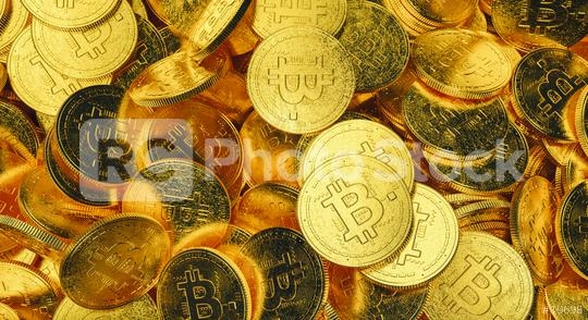 many Physical Bitcoin coins on a heap, Cryptocurrency trading concept - 3D rendering  : Stock Photo or Stock Video Download rcfotostock photos, images and assets rcfotostock | RC-Photo-Stock.: