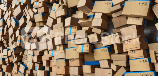 Many stacked Cardboard boxes and boxes bevore moving to delivery. logistics and delivery concept image  : Stock Photo or Stock Video Download rcfotostock photos, images and assets rcfotostock | RC-Photo-Stock.: