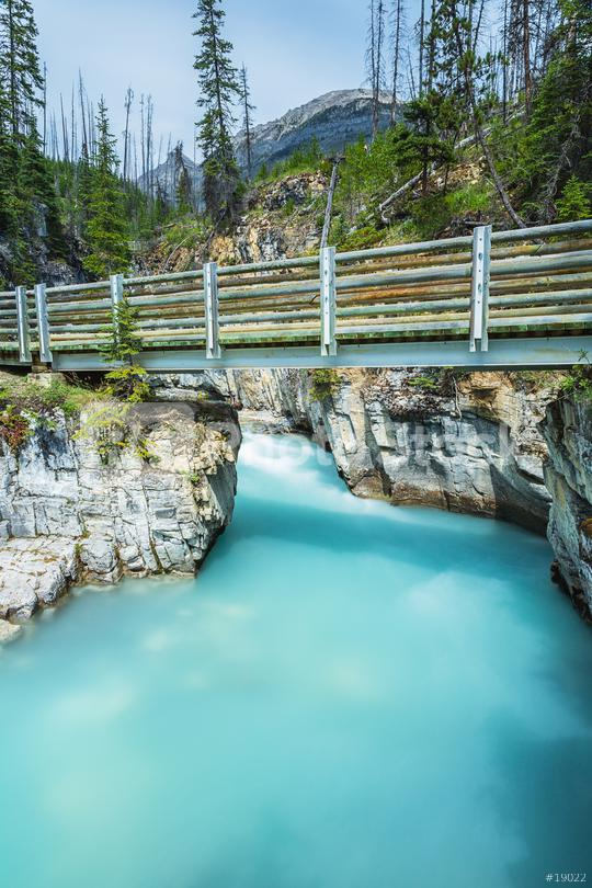 Marble Canyon bridge at Kootenay National Park canada  : Stock Photo or Stock Video Download rcfotostock photos, images and assets rcfotostock | RC-Photo-Stock.: