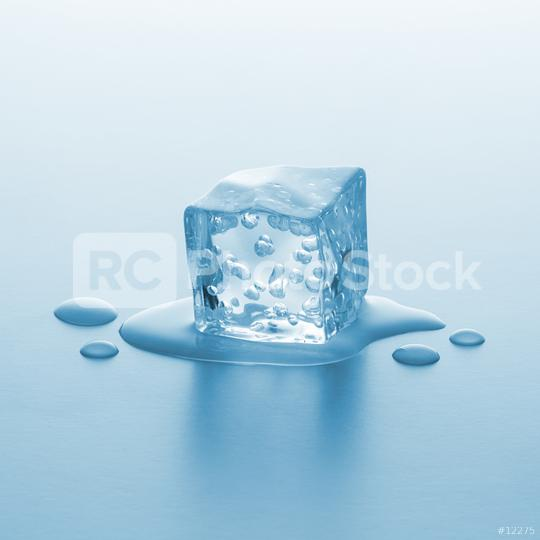 melting ice cube with bubbels  : Stock Photo or Stock Video Download rcfotostock photos, images and assets rcfotostock | RC-Photo-Stock.: