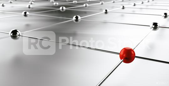 Metaphor of communication - network connection Concept image - 3D Rendering  : Stock Photo or Stock Video Download rcfotostock photos, images and assets rcfotostock | RC-Photo-Stock.: