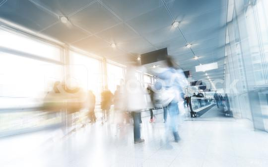 motion blurred Exhibitios visitors on a floor  : Stock Photo or Stock Video Download rcfotostock photos, images and assets rcfotostock | RC-Photo-Stock.: