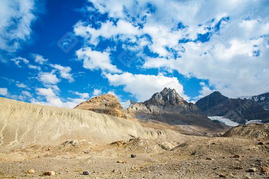 Mount Andromeda Athabasca glacier in jasper canada   : Stock Photo or Stock Video Download rcfotostock photos, images and assets rcfotostock | RC-Photo-Stock.:
