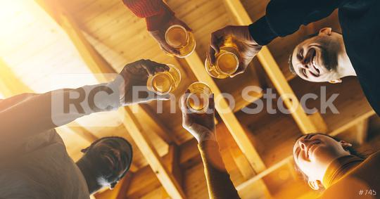 Multiracial group of friends enjoying a beer, Young people hands toasting and cheering aperitif beers half pint at bar or brewery english pub, Friendship and youth concept image  : Stock Photo or Stock Video Download rcfotostock photos, images and assets rcfotostock | RC-Photo-Stock.: