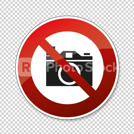 No cameras allowed. No taking pictures, no photographs, prohibition sign, on checked transparent background. Vector illustration. Eps 10 vector file.  : Stock Photo or Stock Video Download rcfotostock photos, images and assets rcfotostock   RC-Photo-Stock.: