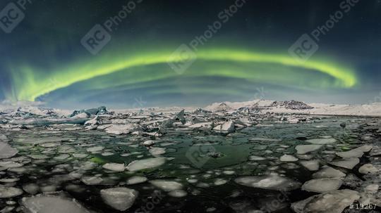 Nordlichter über Jökulsarlon, Eis, Winter, Island  : Stock Photo or Stock Video Download rcfotostock photos, images and assets rcfotostock | RC-Photo-Stock.: