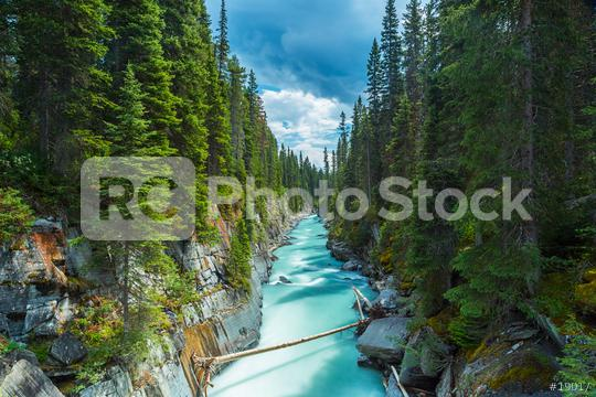 Numa Falls at the Vermillion River Canyon in the Kootenay National Park Canada   : Stock Photo or Stock Video Download rcfotostock photos, images and assets rcfotostock | RC-Photo-Stock.:
