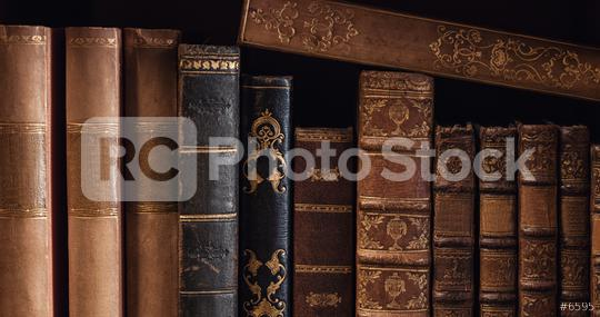 old Books in a row  : Stock Photo or Stock Video Download rcfotostock photos, images and assets rcfotostock | RC-Photo-Stock.: