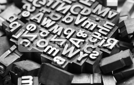 old print letters  : Stock Photo or Stock Video Download rcfotostock photos, images and assets rcfotostock | RC-Photo-Stock.: