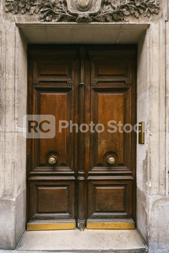 old wooden door in Paris, France  : Stock Photo or Stock Video Download rcfotostock photos, images and assets rcfotostock | RC-Photo-Stock.: