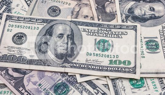 One hundred dollars banknotes pile  : Stock Photo or Stock Video Download rcfotostock photos, images and assets rcfotostock | RC-Photo-Stock.: