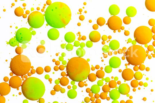 orange and green ink bullets on white  : Stock Photo or Stock Video Download rcfotostock photos, images and assets rcfotostock   RC-Photo-Stock.: