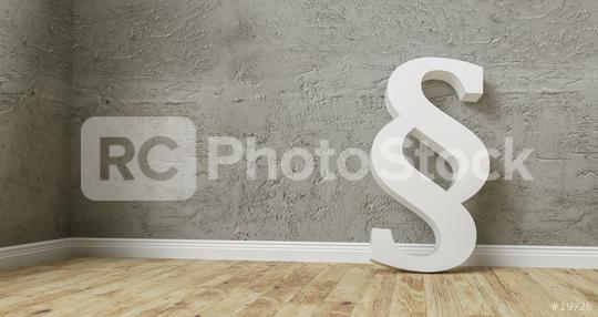 Paragraph smybol against a concrete wall - law and justice concept image - 3D Rendering  : Stock Photo or Stock Video Download rcfotostock photos, images and assets rcfotostock   RC-Photo-Stock.: