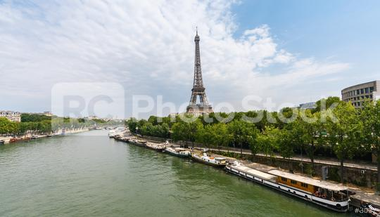 Paris Eiffel Tower at summer  : Stock Photo or Stock Video Download rcfotostock photos, images and assets rcfotostock | RC-Photo-Stock.: