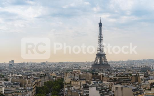 Paris Eiffel Tower at sunset, france  : Stock Photo or Stock Video Download rcfotostock photos, images and assets rcfotostock | RC-Photo-Stock.: