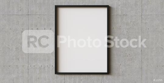 picture frame on concrete wall background. Perfect for your presentations or exhibitions  : Stock Photo or Stock Video Download rcfotostock photos, images and assets rcfotostock | RC-Photo-Stock.: