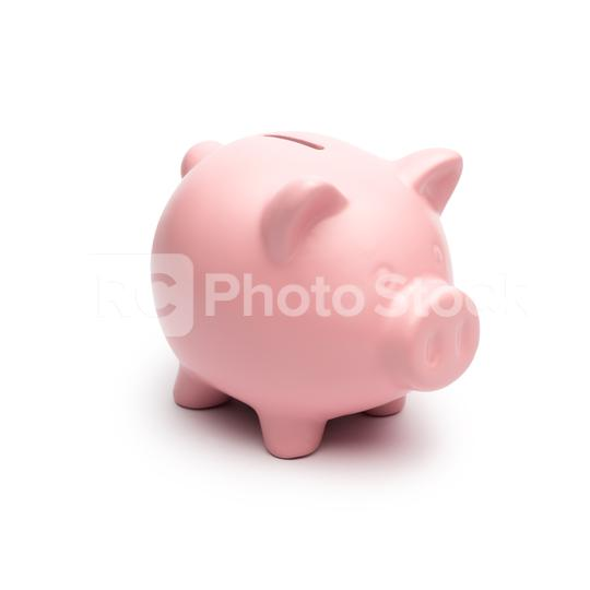 Piggy Bank on white background  : Stock Photo or Stock Video Download rcfotostock photos, images and assets rcfotostock | RC-Photo-Stock.: