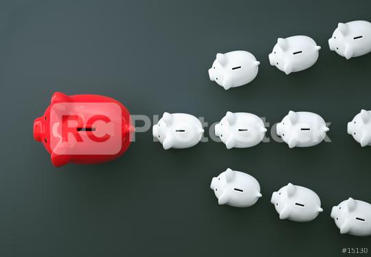 Piggy Bank save money investment  : Stock Photo or Stock Video Download rcfotostock photos, images and assets rcfotostock   RC-Photo-Stock.:
