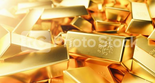 Pile of gold bars. Financial concepts  : Stock Photo or Stock Video Download rcfotostock photos, images and assets rcfotostock | RC-Photo-Stock.: