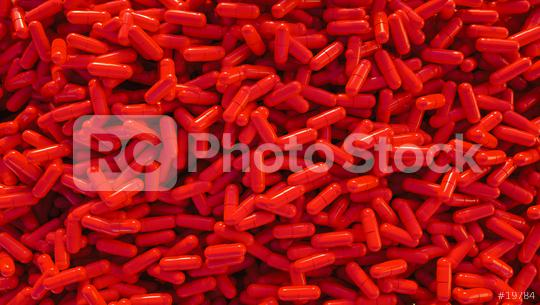 pile of red medical pills or capsules  : Stock Photo or Stock Video Download rcfotostock photos, images and assets rcfotostock | RC-Photo-Stock.: