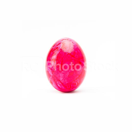 pink easter egg on white  : Stock Photo or Stock Video Download rcfotostock photos, images and assets rcfotostock | RC-Photo-Stock.: