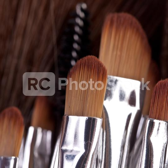 powder brushes  black background  : Stock Photo or Stock Video Download rcfotostock photos, images and assets rcfotostock | RC-Photo-Stock.: