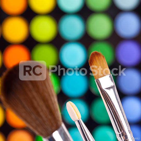 powder brushes  multicolour background  : Stock Photo or Stock Video Download rcfotostock photos, images and assets rcfotostock   RC-Photo-Stock.: