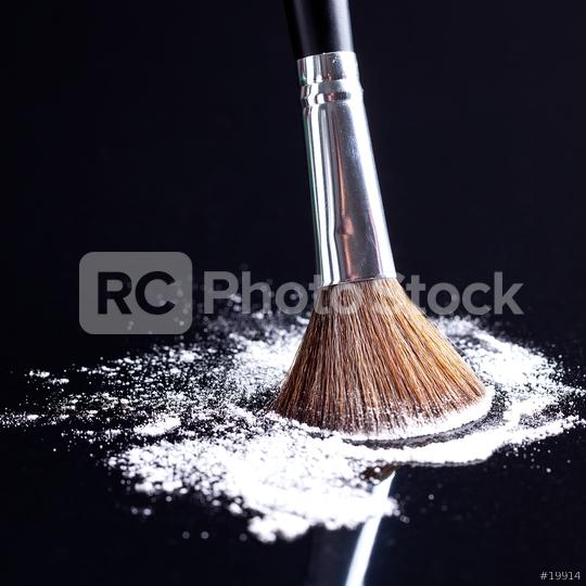 powderbrush on black background  : Stock Photo or Stock Video Download rcfotostock photos, images and assets rcfotostock   RC-Photo-Stock.: