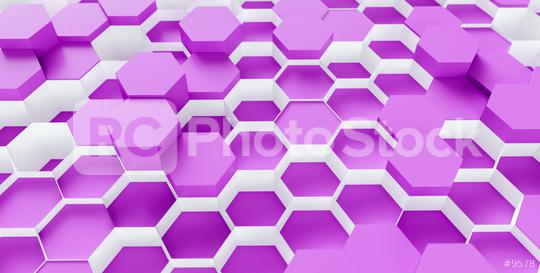 purple Hexagon Background - 3D rendering - Illustration   : Stock Photo or Stock Video Download rcfotostock photos, images and assets rcfotostock | RC-Photo-Stock.: